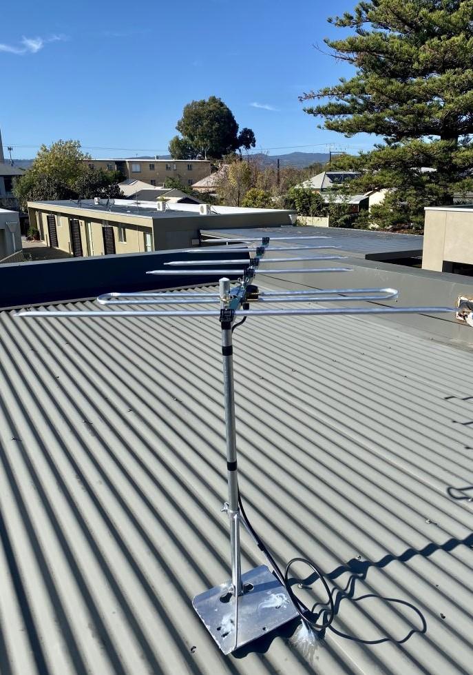Antenna installation Collinswood aerial Australian made