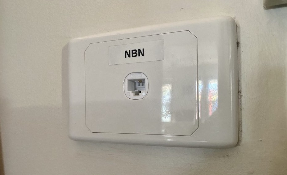 New NBN point outlet Largs Bay