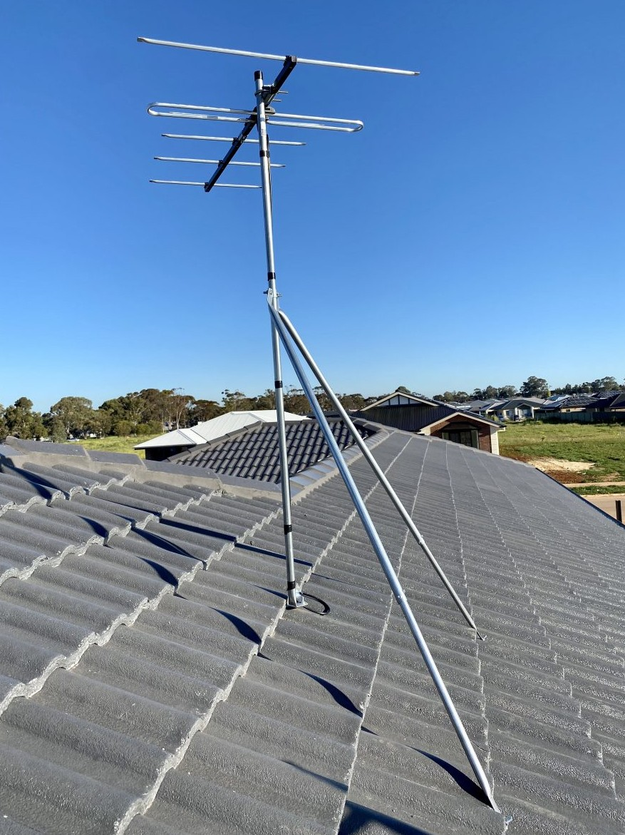 New digital TV aerial installation Eyre